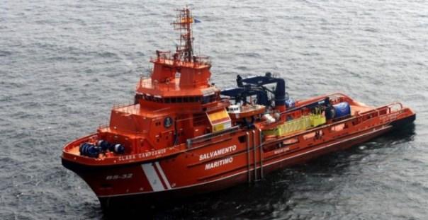 El remolcador Clara Campoamor de Salvamento Marítimo.- SASEMAR