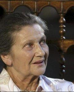 Simone Veil, primera mujer que presidió el Parlamento Europeo y Premio Carlos V 2008.