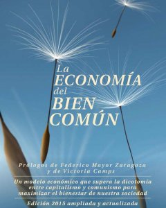 Portada de la nueva edición del libro 'La economía del bien común', escrito por Christian Felber.
