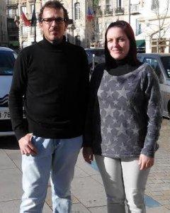 Paco Vicente y María José
