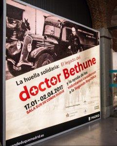 Exposición El legado del doctor Bethune en el Centro Cultural Conde Duque- OSCAR RODRÍGUEZ