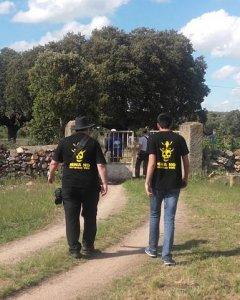 Dos vecinos contra el proyecto. LV