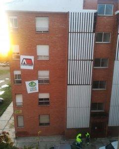 Bloque abandonado del Ministerio de Interior en Badajoz. PAH de Badajoz