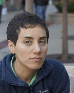 Maryam Mirzakhani. Stanford Universiti/EFE