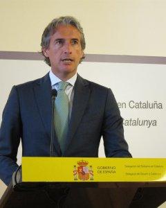 El ministro de Fomento, Íñigo de la Serna. E.P.