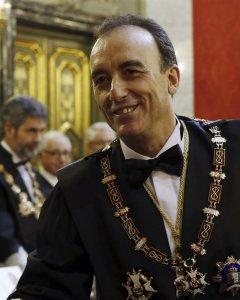 Manuel Marchena, presidente de la Sala de lo Penal del Supremo. Foto: EP.
