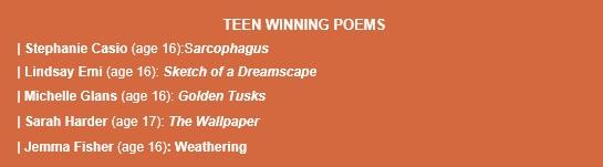 teen winners