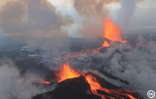 Bárðarbunga volcano, Iceland.
