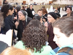 A group of Haredi women angrily confront Jewish women as they prayed by the Wailing Wall in the Old City of Jerusalem. © 2010 Rachel Sharon | Flickr