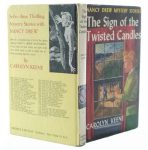 Nancy Drew Sign of the Twisted Candles Secret Hollow Book Safe