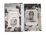 Great Hitters Hollow Book Safe with autographed photo of Willie Mays inside