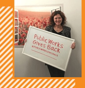 #PublicWorksGivesBack is back