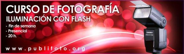 Curso de fotografía con flash