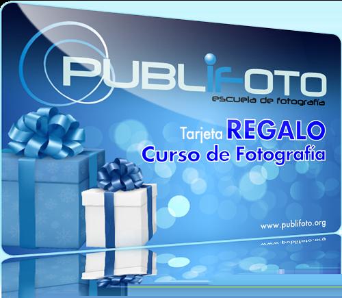 Tarjeta regalo - Curso de fotografía