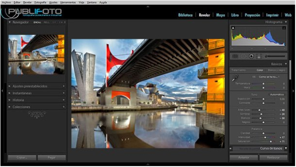 Curso Photoshop Lightrom en Bilbao