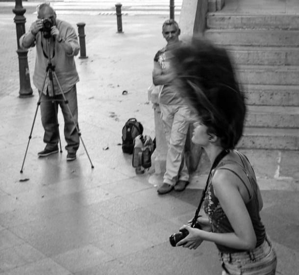 Curso fotografía - sesión práctica
