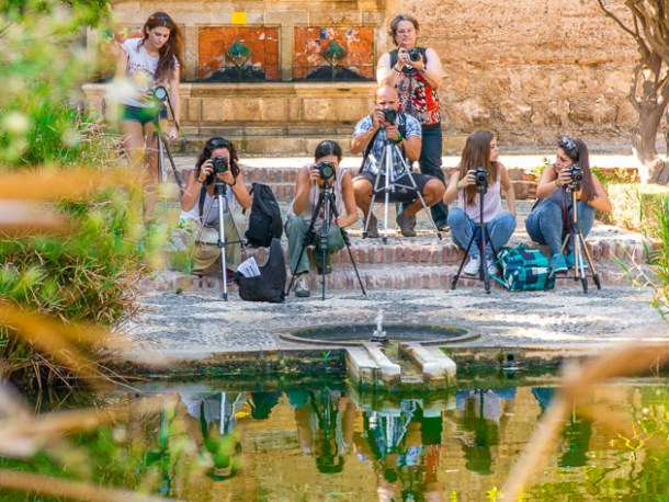 Asistentes curso básico fotografía