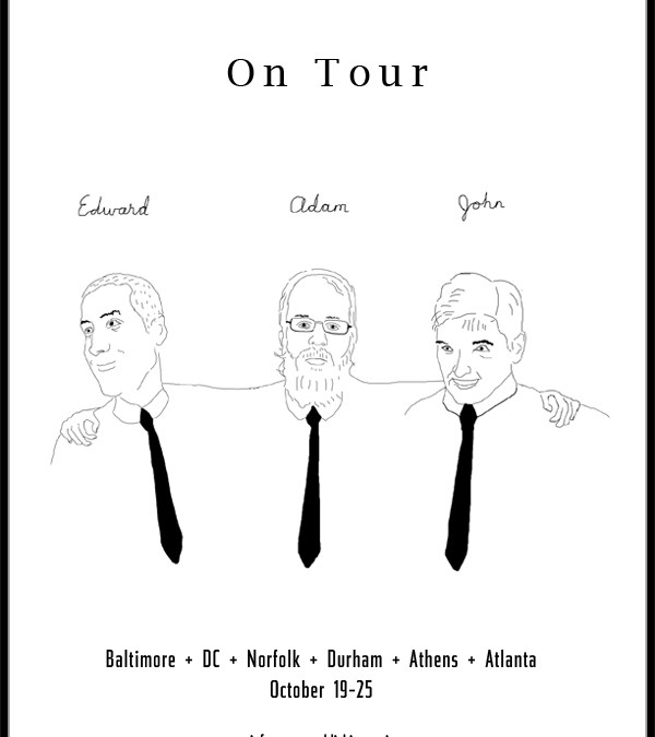 Edward, John and Adam On Tour