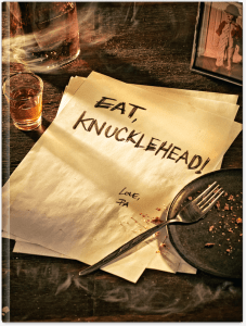 Eat, Knucklehead! is on sale