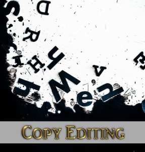 Image of wild random letters to show copy editing, an important publishing service by Dream to Publish and Deborah S Nelson