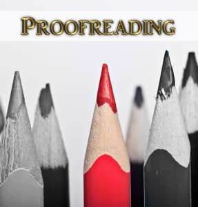 Red Pencil stands out to represent PROOFREADING services offered by Dream To Publish Self-Publishing Services