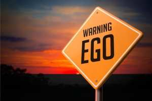 writing from your heart is the best direction. Warning Sign says watch writing with your ego.