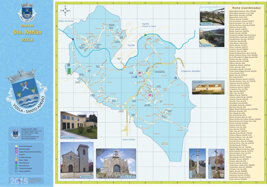 Miniatura do mapa de St.º Adrião em Vizela