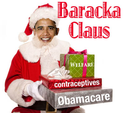 A Few Monday Funnies Baracka Claus And Man Made