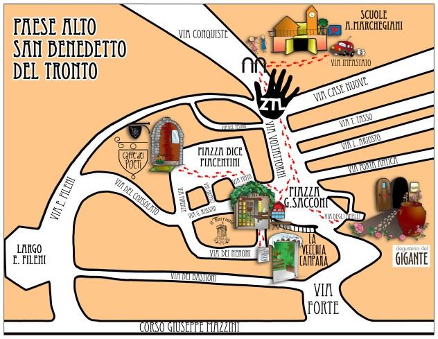 mappa ZTL Torrioen
