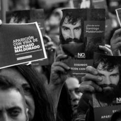 En imágenes: la  marcha por #SantiagoMaldonado