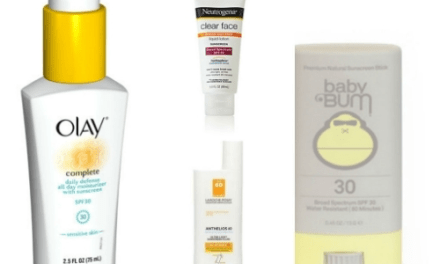 THE BEST SUNSCREEN FOR YOUR FACE