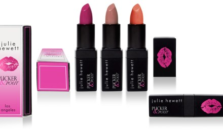 Pucker & Pout X Julie Hewett Lipstick Collaboration