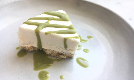 VEGAN CLASSIC CHEESECAKE + NOT POT PEARL BUTTER