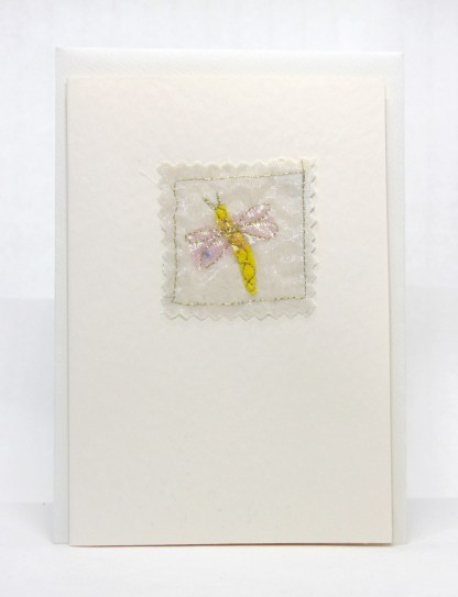 A handmade embroidered greeting card for all occasions.