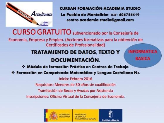 CartelCursoInformatica201602