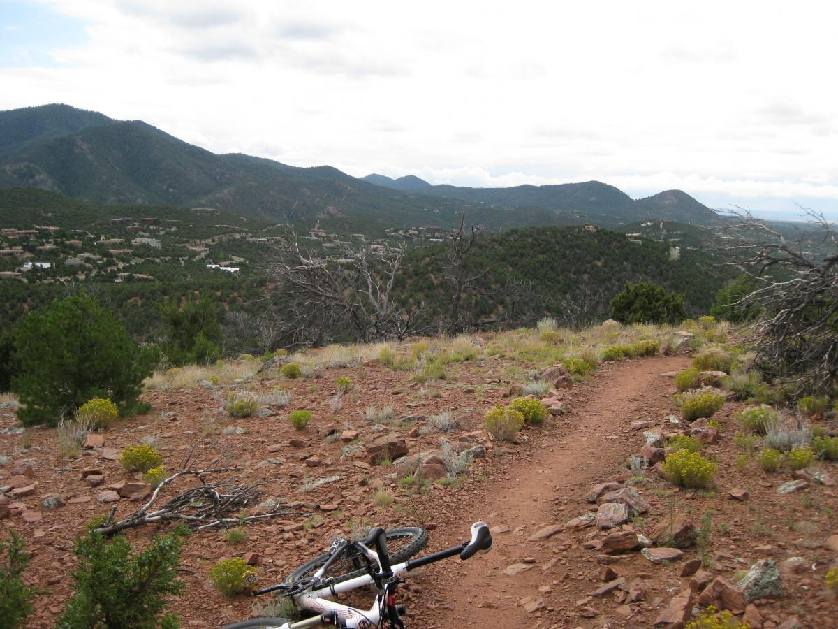 Mountain Bike Trails Around Santa Fe, New Mexico