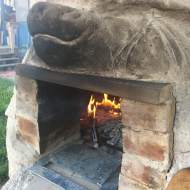 First firing of the oven