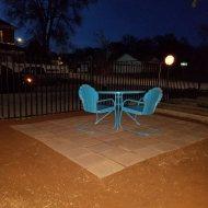 The original patio set (Denise found back in 2012)