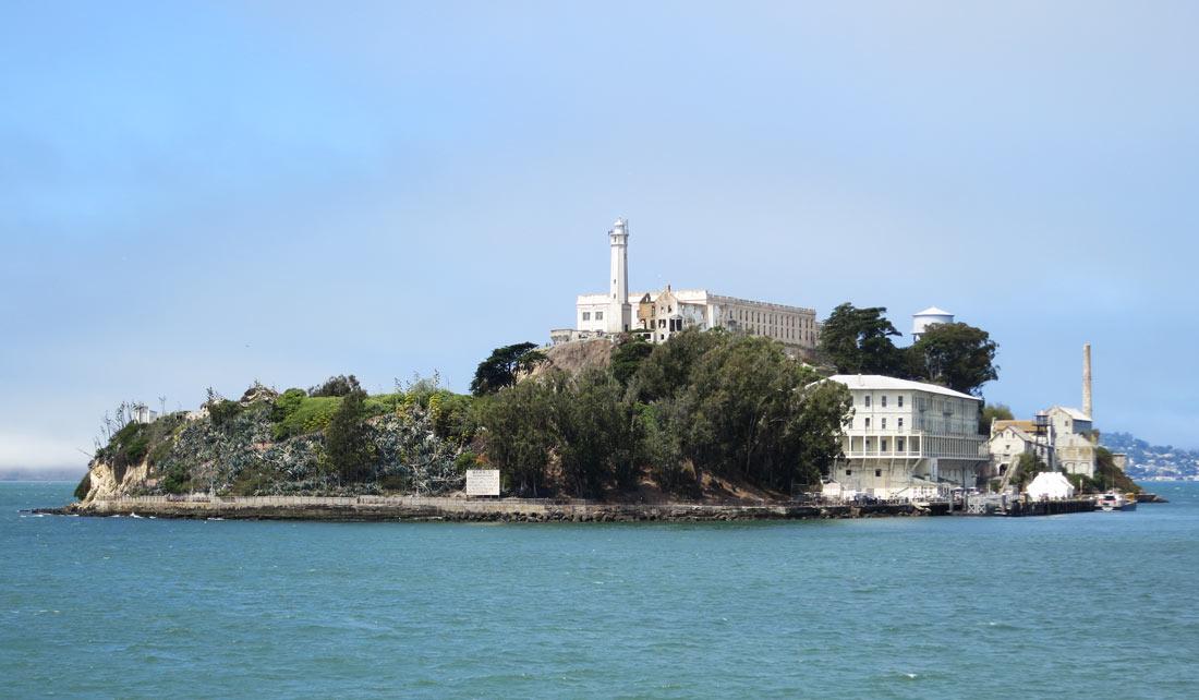 Alcatraz desde el barco