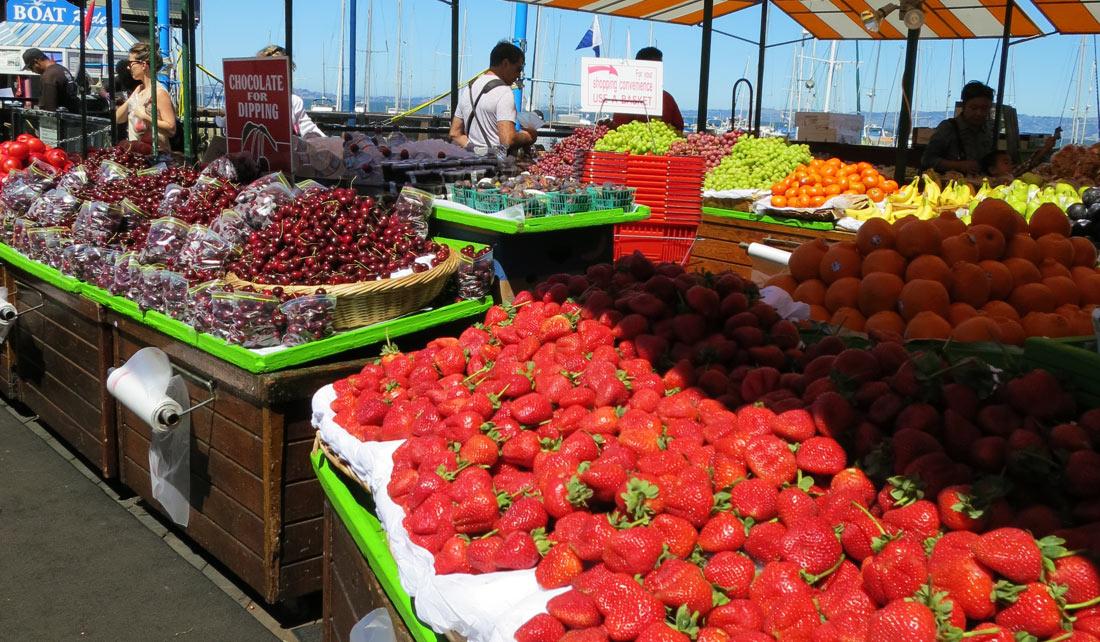 Mercado en el Pier 39