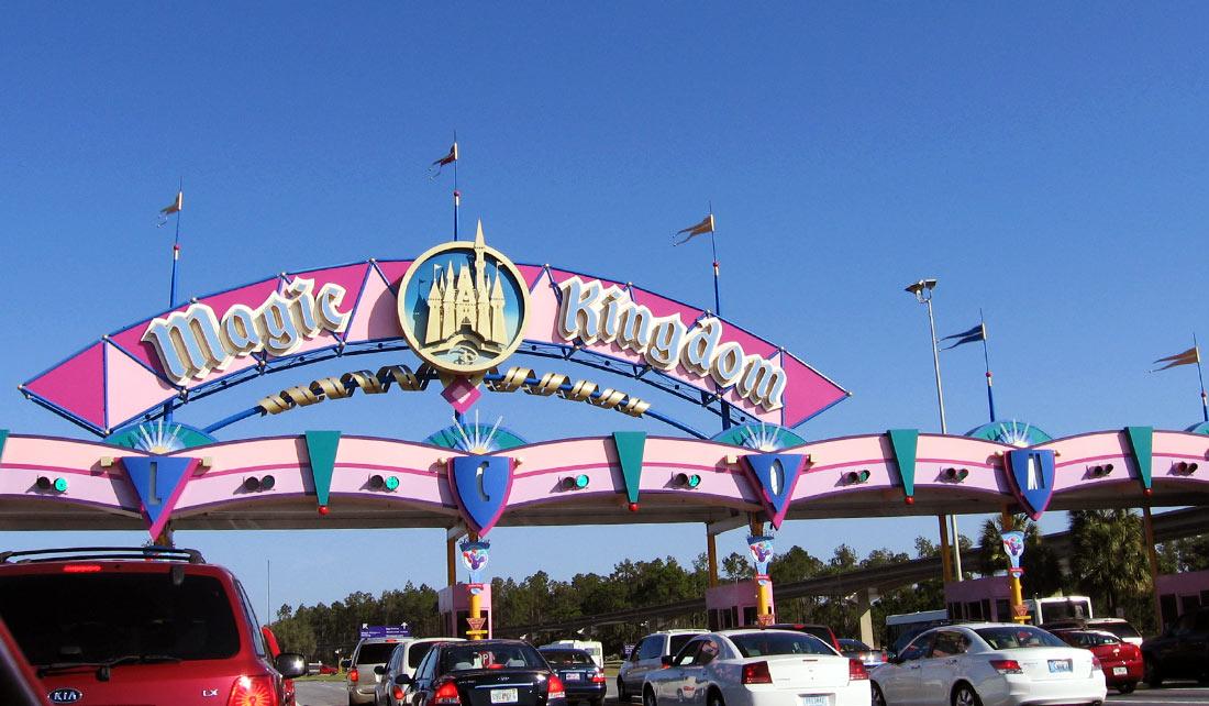 Entrada Magic Kingdom, Orlando