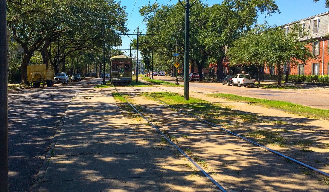 St. Charles Avenue en Garden District
