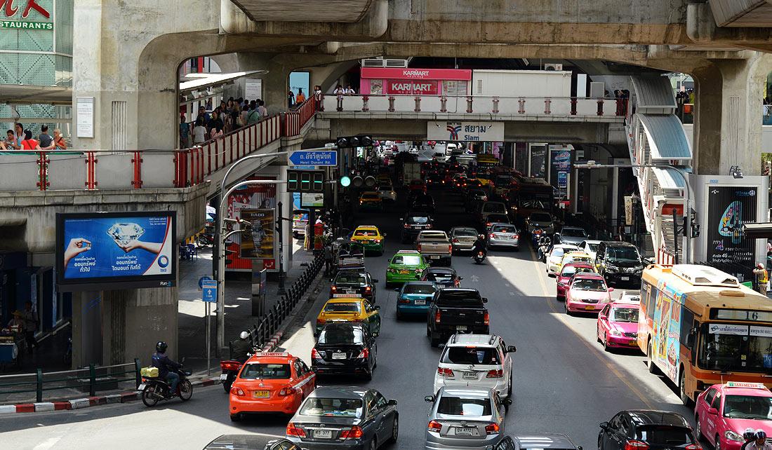 Trafico en Bangkok