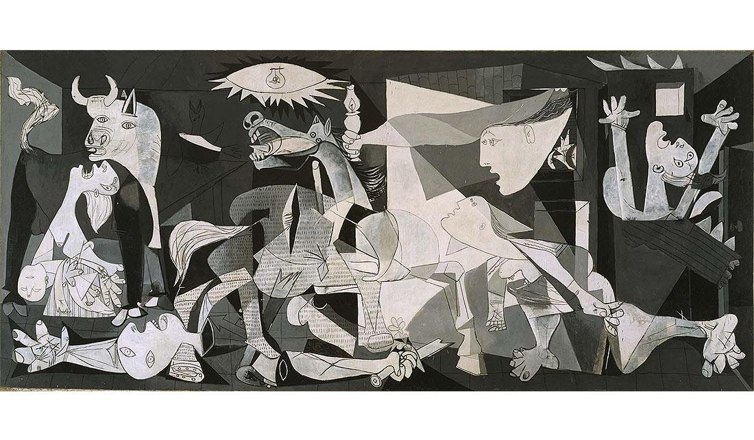 """""""El Guernica"""" de Pablo Picasso - Museo Reina Sofía"""