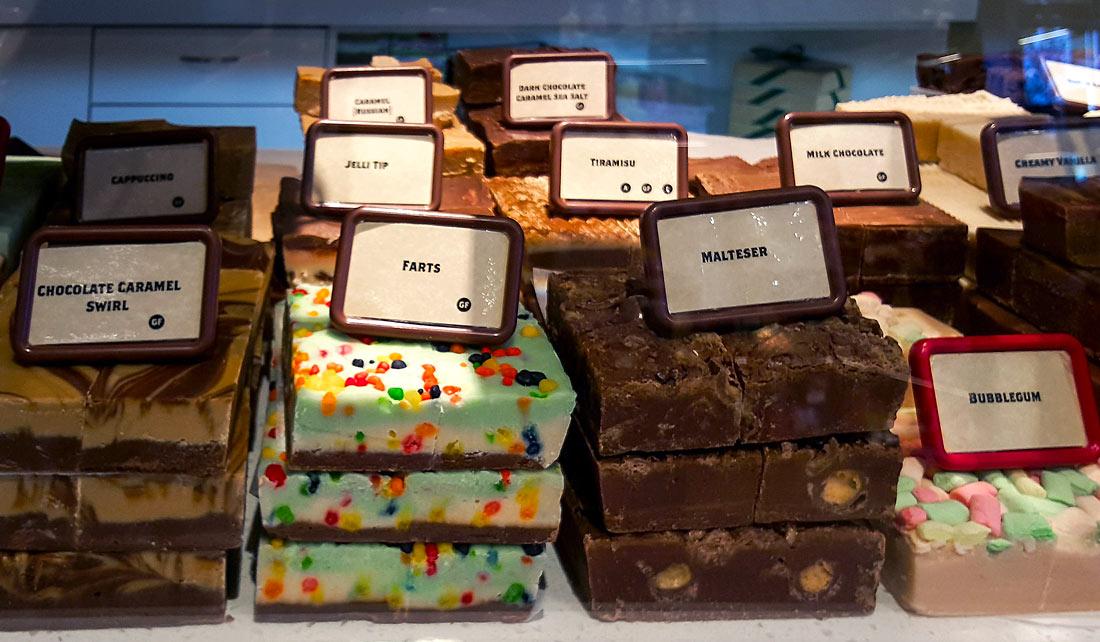 "Chocolates de ""Chocolates Patagonia""."