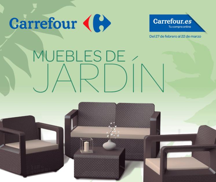 Especial muebles de jardín en Carrefour | CC Puerta de Alicante