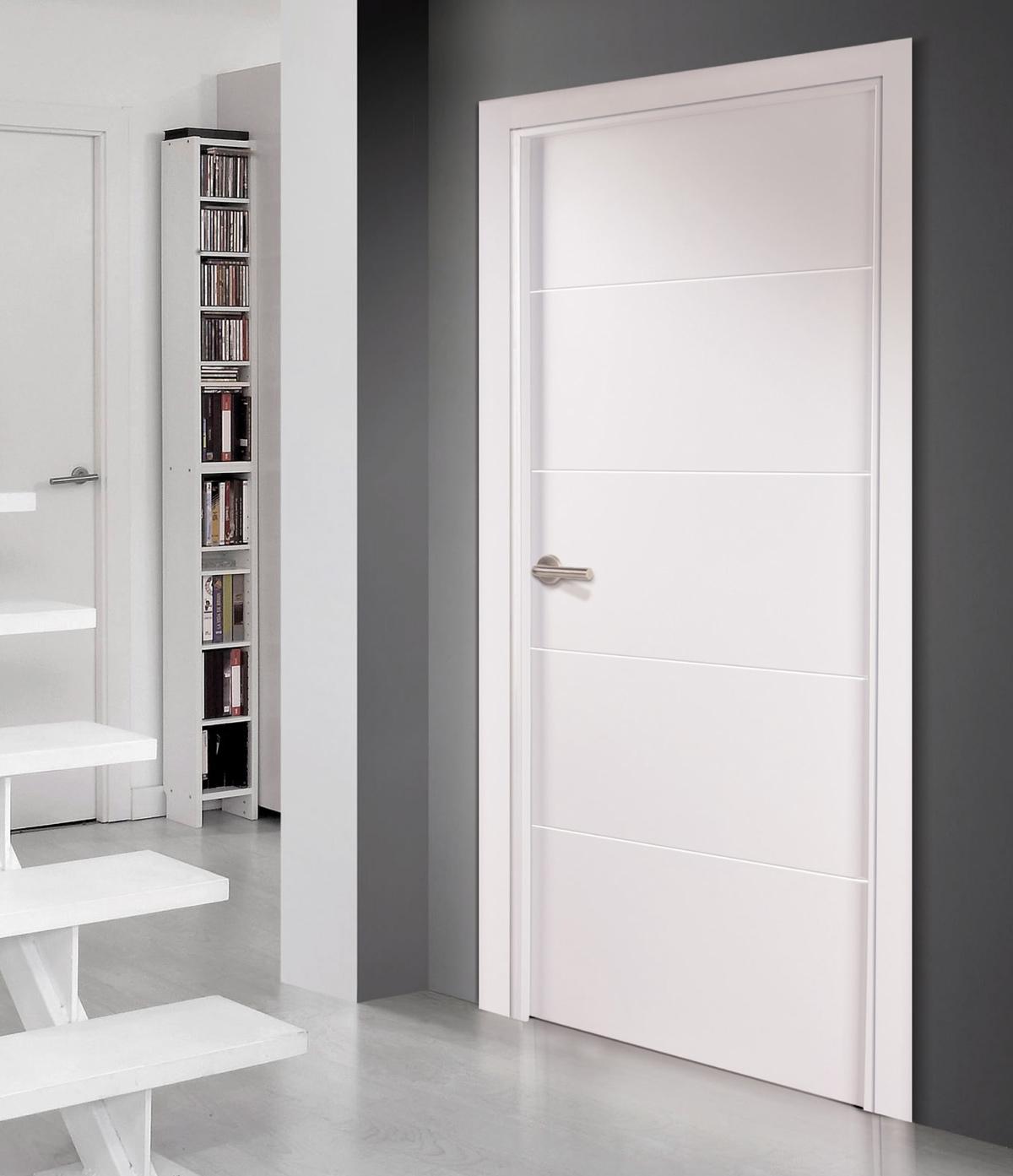Combinar puertas blancas for Puertas macizas blancas