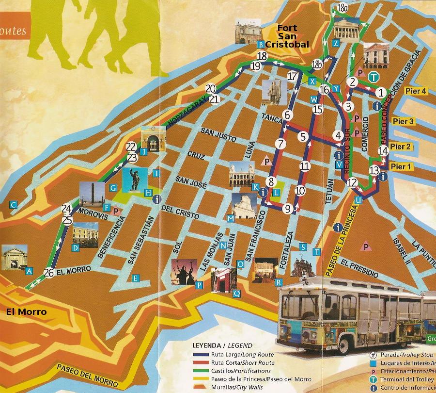 trolley map