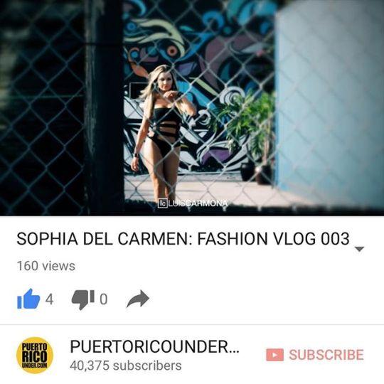 Buscalo en nuestro canal de #youtube en nuestro bio link. #sophiadelcarmen @sophiadelcarmen