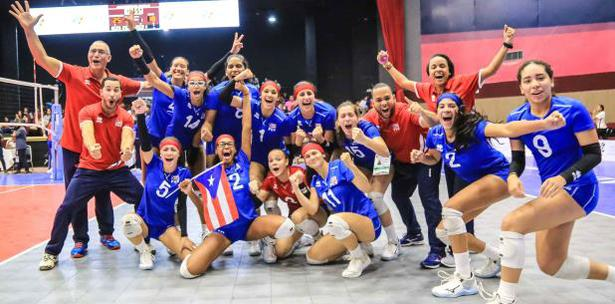 Puerto Rico jugará por el título de la Copa U18 y clasifica al Mundial FIVB